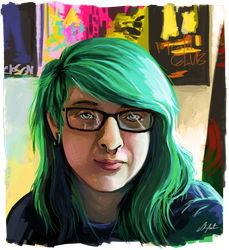 Selfportrait by ShanaPatry