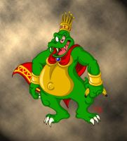 K. Rool and Unusual Punishment by dustindemon