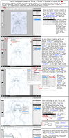 Lineart Tutorial by icha-icha