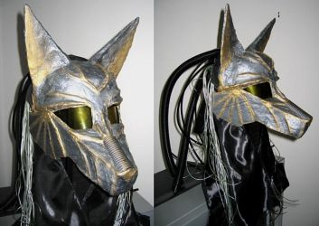 Cyber Anubis helm by apocastasis