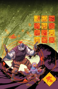 TMNT#68_cover by Santolouco