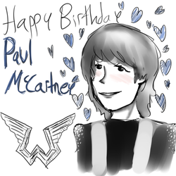 Happy 75th Birthday Paul by Time-collision