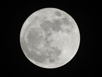 The moon at its closest by Addy-bose
