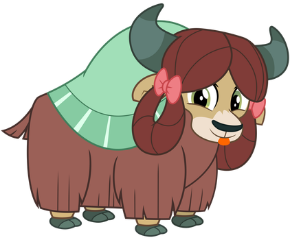 Yona the Yak by cheezedoodle96