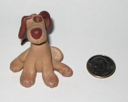 Sculpey Dog by bumblefly