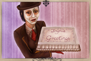 We Happy Few - Postcard Contest: Joyous Greetings by KiraElusia