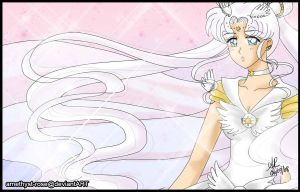 117. Sailor Cosmos by amethyst-rose
