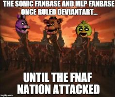 Until The FNAF Nation Attacked by ViolentJade