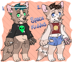 Space Kiddos (Adopt Auction: CLOSED) by Chaiify
