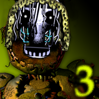 Faceless Springtrap by FreddyFredbear