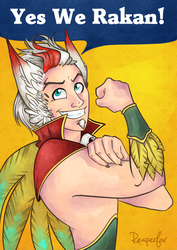 Yes We Rakan! by reaperfox