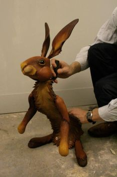 Hester The Hare again by Nectarine