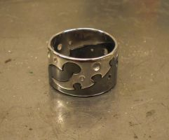 Industribal Puzzle Ring by fairyfrog