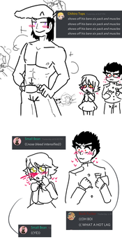 Hot lags are hot: feat fanboys taka and chihiro by Shagirma