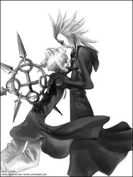 It's better this way - KH2 by neofox