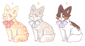 CLOSED l smol pixel foxes by Luuria