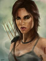 Lara Croft by Applime