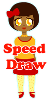 Littla Ava Speed Draw by xVanyx