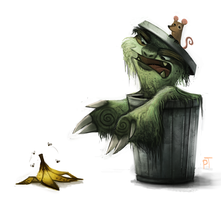 DAY 490. Sketch Dailies Challenge - Muppets by Cryptid-Creations