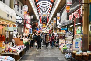Kuromon Market - Osaka by Freedom4Arts