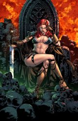Red Sonja #17 by zaratus