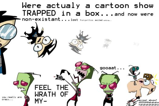 Gekko73 1 EPISODE Invader Zim TCS P2 By Spikeyfreakboy