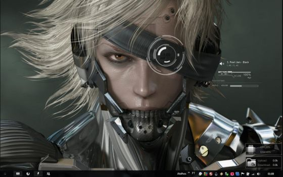 New rainmeter - Metal Gear by Absinto10