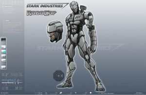 Stark Enterprises ROBOCOP by NateJ25