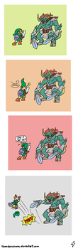 LoZ OoT Comic 8 by ThunderManEXE