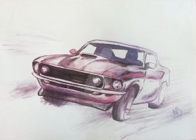 Mustang by niC00L
