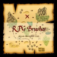 Rpg Photoshop Brushes by EdithThrashes