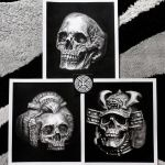 Top three Iron Clan's first release hand Drawing by ironclanmetal