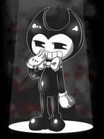 Bendy and the ink machine by MidoriiArt