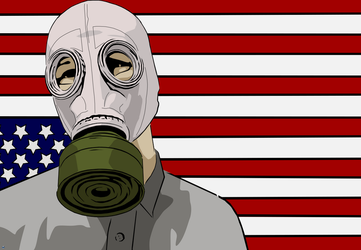 Gas Mask Nation by voodoo-prophet