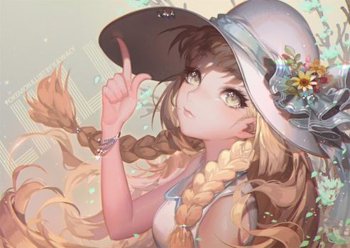 Alola to Lillie by kawacy