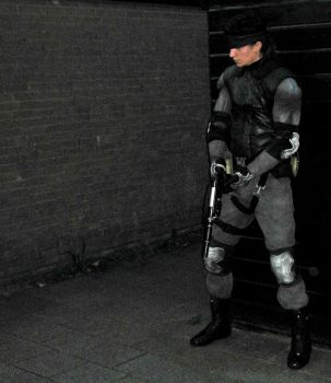 Metal Gear Solid - Solid Snake by RBF-productions-NL
