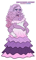 CE: Rose De France Amethyst by sariasong64