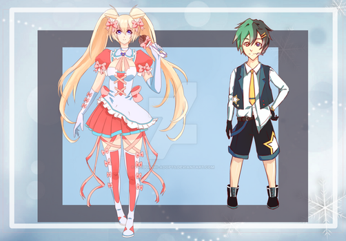 CLOSED Collab Adopts ( Auction ) by Hirugashi-Adopts