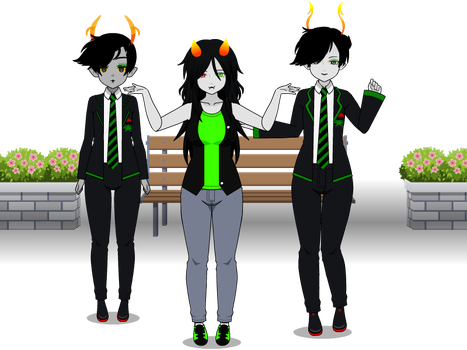 [Hiveswap] Remake Lanque Bombyx + export code by HeliVlad
