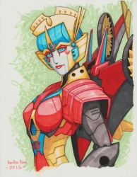 Beamer's Windblade -- SDCC Style by Ha-HeePrime