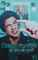 {Wattpad Cover} Caught with a stranger by Monstuffs