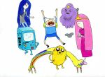 Adventure Time Collage by photo-elena-graphy