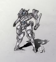 Mecha - Grey Fox by ModalMechanica
