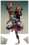 Captain America 2 Collab by ParisAlleyne