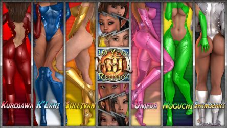 MHL 10 Year Reunion preview plus Opacity Maps by Becarra