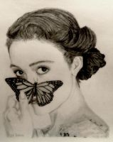 Emmy and the Butterfly by shuckaby
