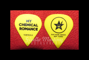 Ray Toro pick from MCR show by gisellam