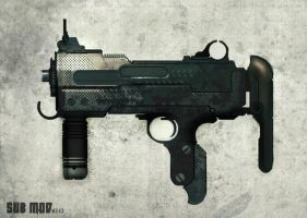 GUN speed paint SUB MOD M243 by torvenius