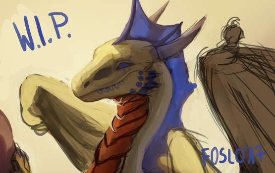 W.I.P. - AT with Nessie904 by Foslo