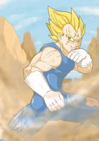 Majin Vegeta by Shinfate